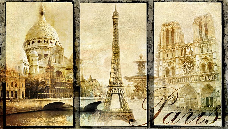 софии постеры ретро париж выглядели